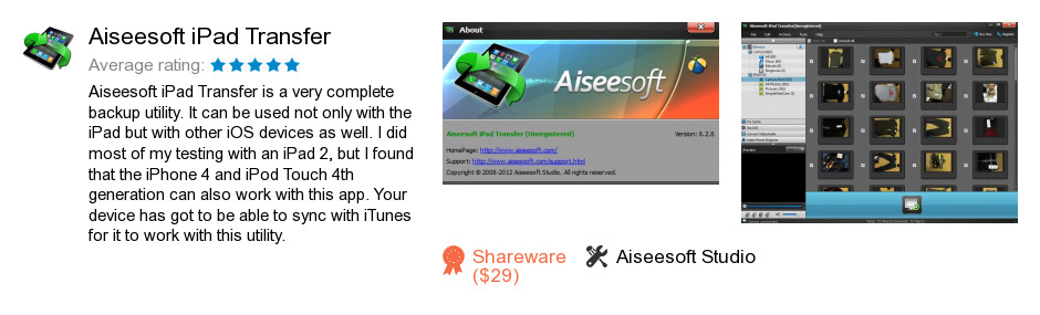 Aiseesoft iPad Transfer