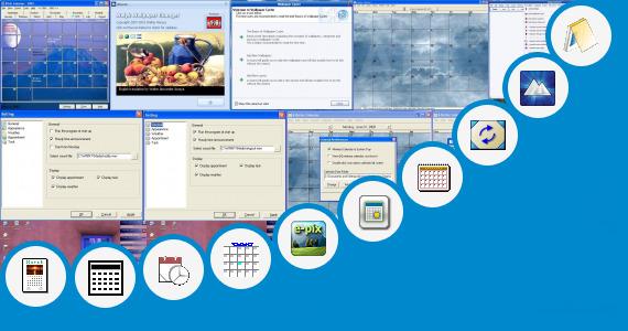 Calendar Wallpaper Program : Month calendar wallpaper walyk changer and