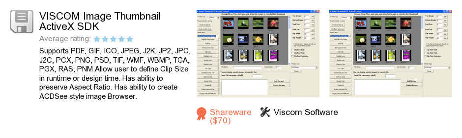 VISCOM Image Thumbnail ActiveX SDK