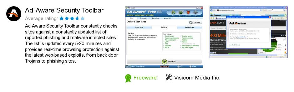 Ad-Aware Security Toolbar