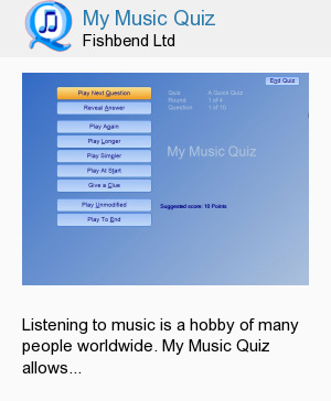 My Music Quiz