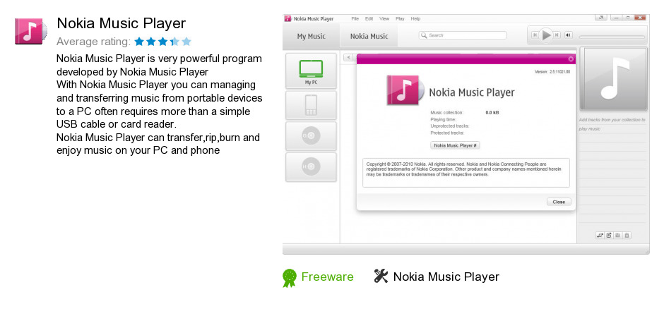 Nokia Music Player