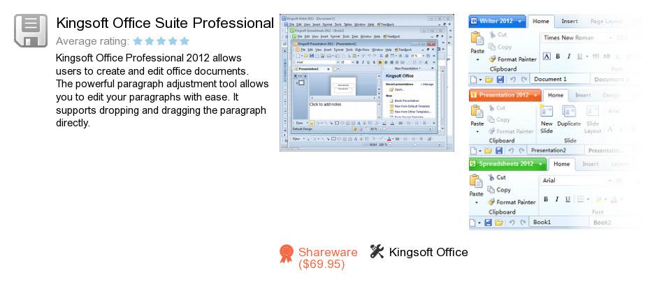Kingsoft Office Suite Professional