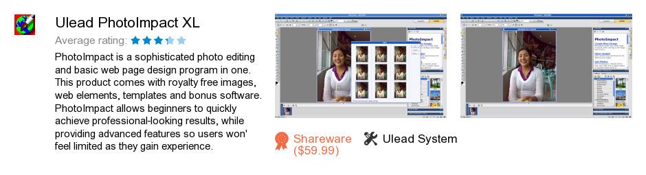 Ulead PhotoImpact XL