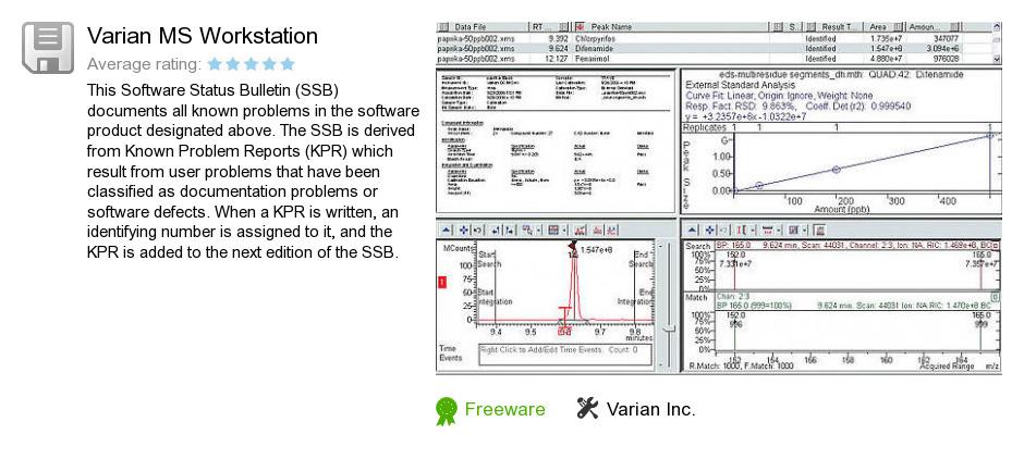 Varian MS Workstation