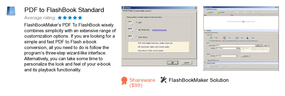 PDF to FlashBook Standard