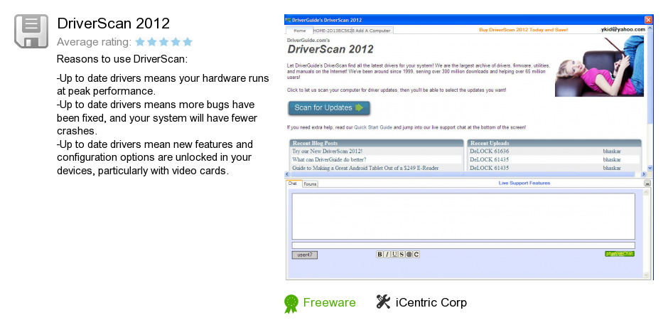 DriverScan 2012