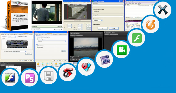 Software collection for Flash Avi Player