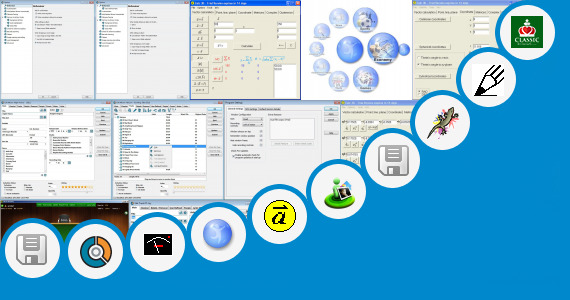 Software collection for Online Circle Drawer