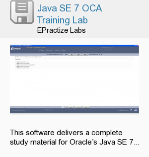 Java SE 7 OCA Training Lab