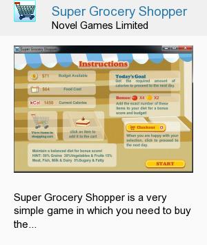 Super Grocery Shopper