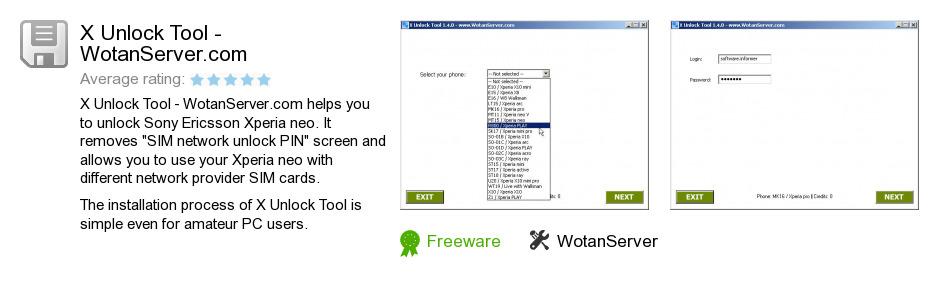 X Unlock Tool - WotanServer.com
