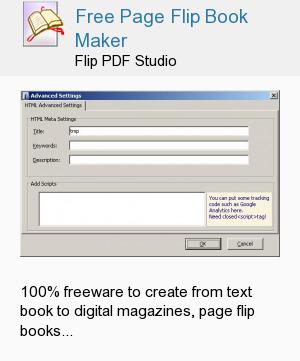 Free Page Flip Book Maker