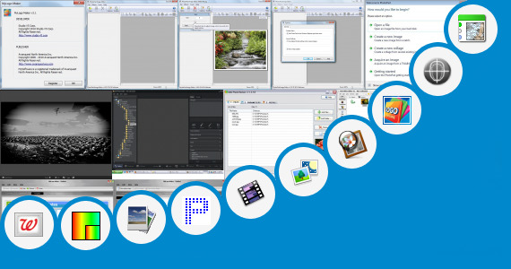 Software collection for Online Photo Pixels Editor