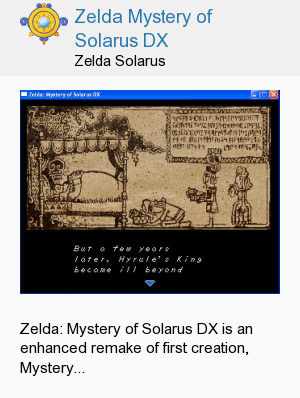 Zelda Mystery of Solarus DX