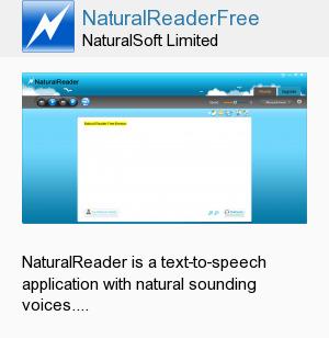 NaturalReaderFree