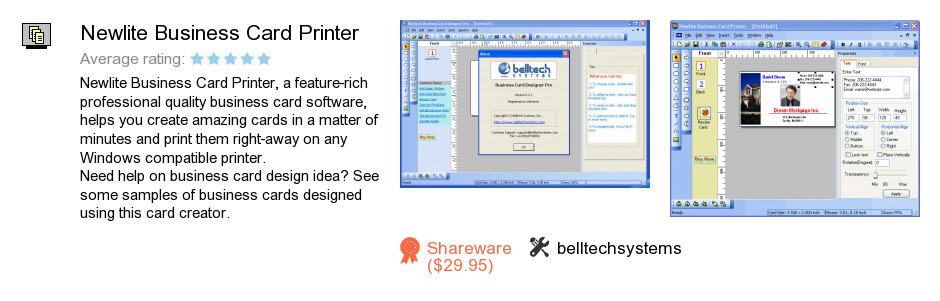 Newlite Business Card Printer