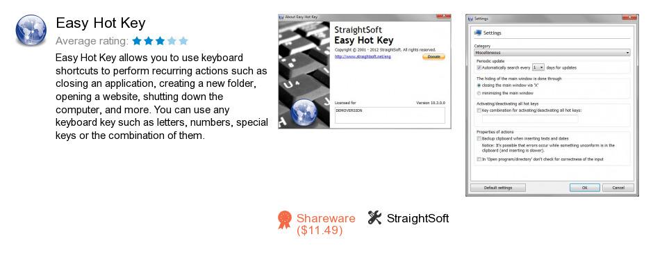 Easy Hot Key