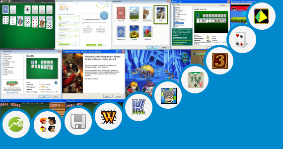 Software collection for Hero Zero 123 Play Games