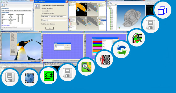 Software collection for Gewiss Cad Data