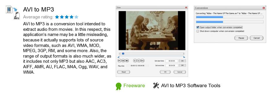 AVI to MP3