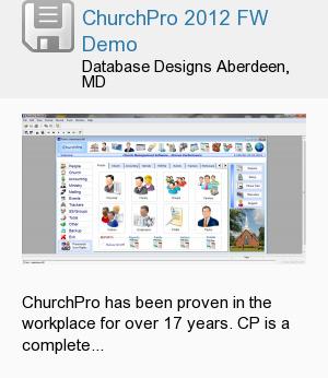 ChurchPro 2012 FW Demo