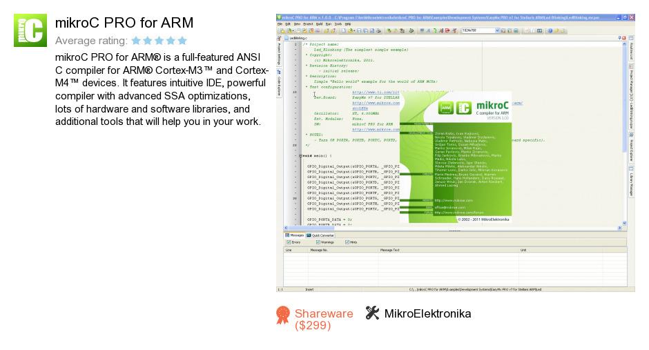 MikroC PRO for ARM