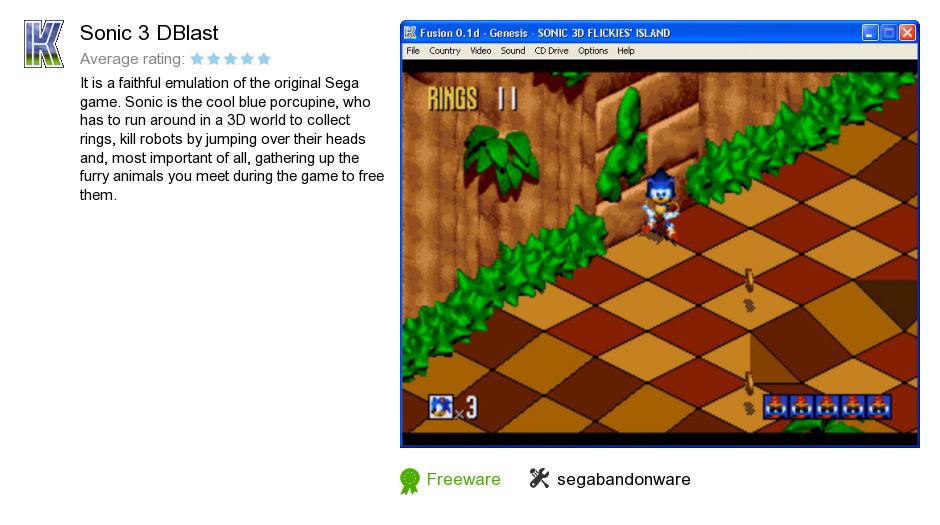 Sonic 3 DBlast