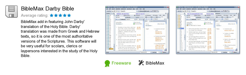 BibleMax Darby Bible
