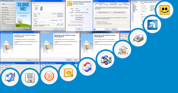 Software collection for Fax Icon Outlook Email Signature