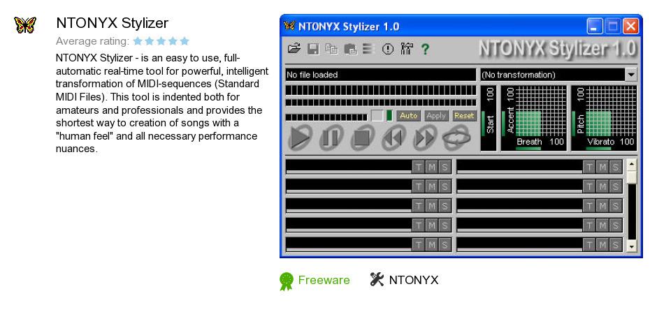NTONYX Stylizer