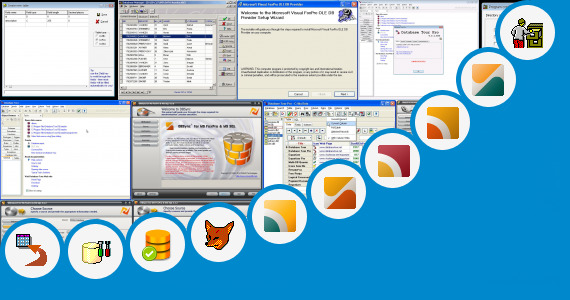 Software collection for Java Database Vs Foxpro