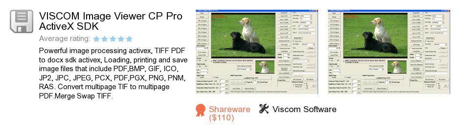 VISCOM Image Viewer CP Pro ActiveX SDK