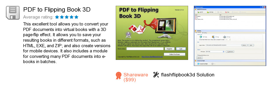 PDF to Flipping Book 3D