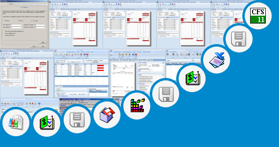 Software collection for Tax Reconciliation Template