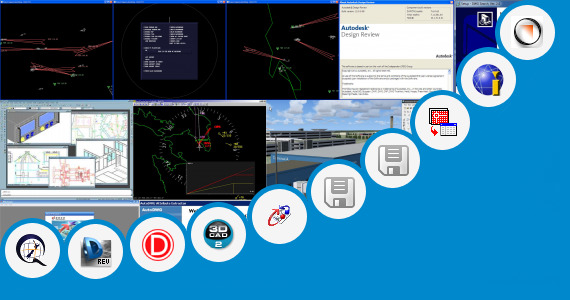 Software collection for Airport Project Dwg Free