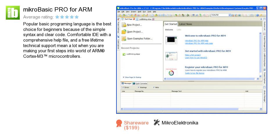 MikroBasic PRO for ARM