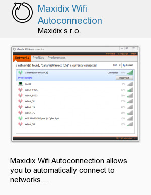 Maxidix Wifi Autoconnection