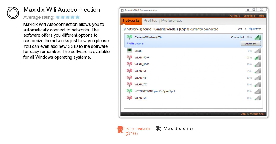 Maxidix Wifi Autoconnection