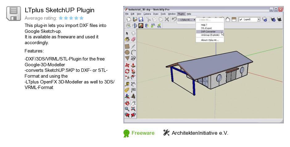 LTplus SketchUP Plugin