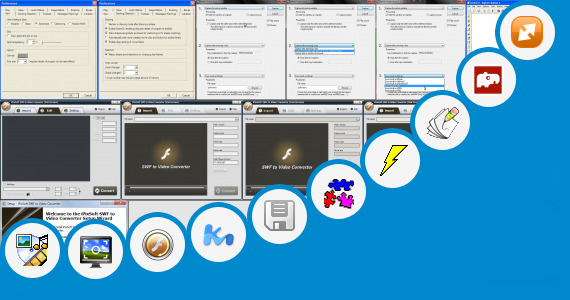 Software collection for Animated Gif Asteroids Game