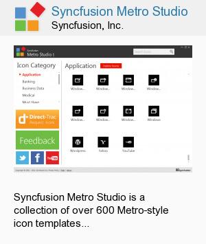 Syncfusion Metro Studio