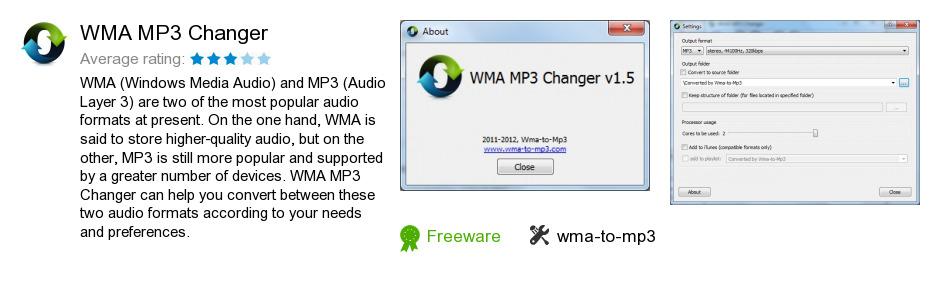WMA MP3 Changer