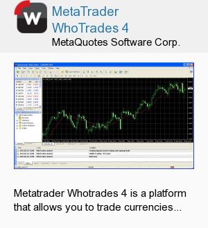 MetaTrader WhoTrades 4