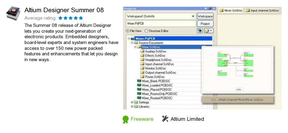Altium Designer Summer  Free Download