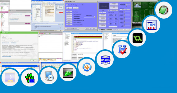 Software collection for Code Designer Lite