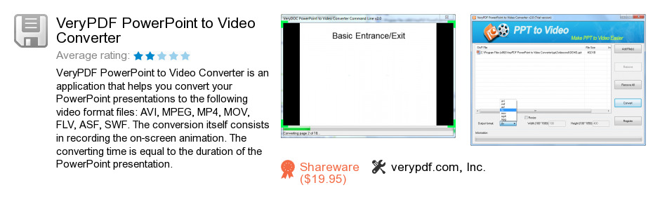 VeryPDF PowerPoint to Video Converter