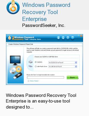 Windows Password Recovery Tool Enterprise