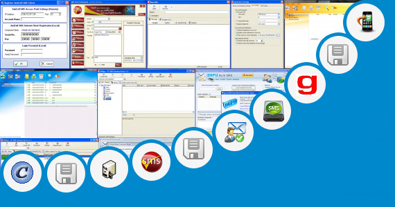 Software collection for Sms Application Jar