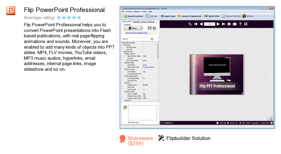 Flip PowerPoint Professional